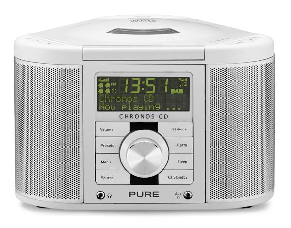 Tidsmæssigt Chronos CD SII: Fed DAB-radio fra PURE med indbygget cd-afspiller WL-73