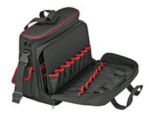 Image of   00 21 10 LE taske til opbevaring af værktøj Sort, Rød Polyester