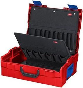 Image of   00 21 19 LB taske til opbevaring af værktøj Sort, Blå, Rød Acrylonitrilbutadienstyren
