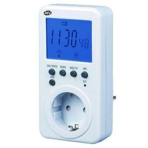 Image of   0025510103 elektronisk tæller Daglig/ugentlig timer Hvid