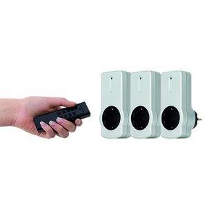 Image of   0085010703 strømstik adapter Type F Sort, Hvid
