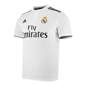 Image of   Kortærmet fodboldtrøje til mænd Adidas Real Madrid Hvid 18/19 (1ª) XXL