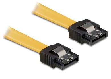 Image of   0.2m SATA cable Yellow