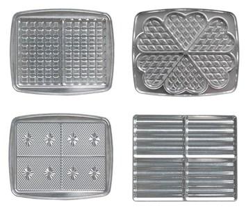Image of   030521 tilbehør til vaffeljern Aluminium