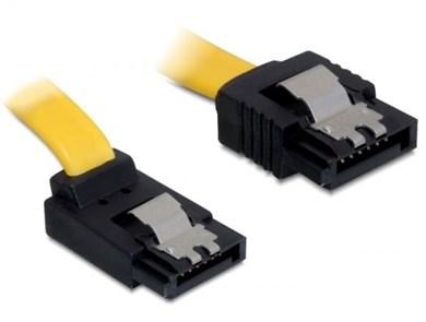 Image of   0.3m SATA M/M SATA-kabel 0,3 m Gul