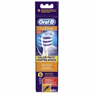 Image of   052722 børstehoved til elektrisk tandbørste 5 stk