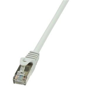 Billede af 0.5m Cat.6 F/UTP netværkskabel Grå 0,5 m Cat6 F/UTP (FTP)