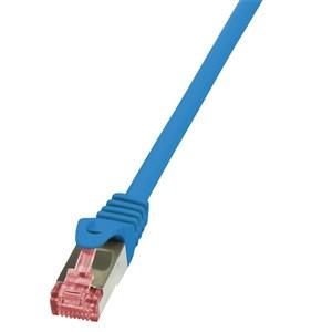 Billede af 0.5m Cat.6 S/FTP netværkskabel Blå 0,5 m Cat6 S/FTP (S-STP)