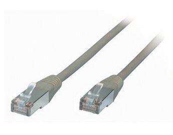 Image of   0.5m RJ45 netværkskabel 0,5 m Cat5e F/UTP (FTP) Grå