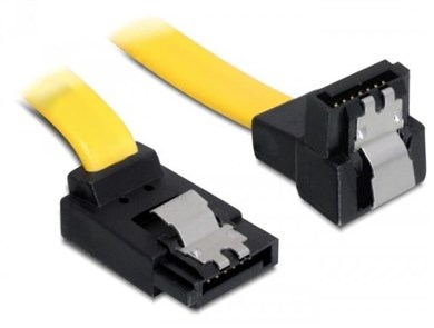 Image of   0.5m SATA M/M SATA cable Yellow
