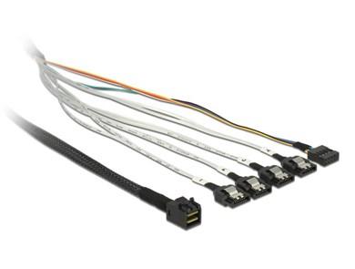 Image of   0.5m, SFF-8643/4 x SATA 7p 0,5 m