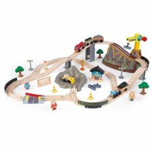 Image of   0706943178058 spor til legetøjsbil Plast, Træ