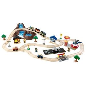 Image of   0706943178263 spor til legetøjsbil Plast, Træ
