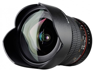 10mm f/2.8 ED AS NCS CS Sort