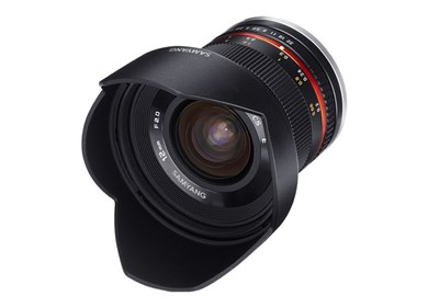12mm F2.0 NCS CS MILC Ultra bredlinse Sort