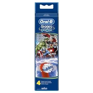 Image of   132783 børstehoved til elektrisk tandbørste 4 stk