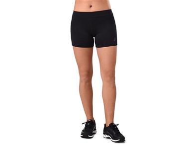 Sport shorts til kvinder Asics HOT PANT Sort M