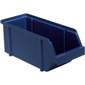 Image of   136662 værktøjskasse og kasse Polypropylen Blå