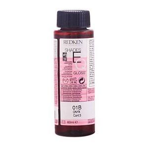 Semi-permanent Farve Shades Eq Redken 01B onyx - 60 ml
