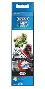 Billede af 80341537 børstehoved til elektrisk tandbørste 4 stk Flerfarvet