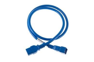 Image of   16A IEC320 C20 - CEE el-ledning Blå C20 forbinder