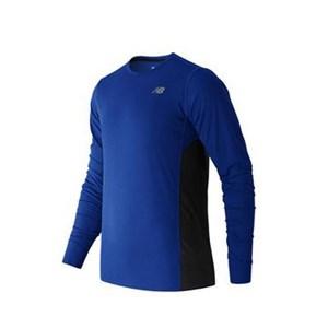 Langærmet T-shirt til Mænd New Balance ACCELERATE Blå L