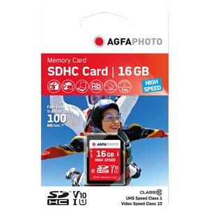 Image of 16GB SDHC hukommelseskort Klasse 10 MLC