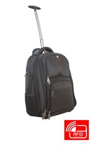 Image of   17 Notebook Backpack Roller Paris w/RFID Secure