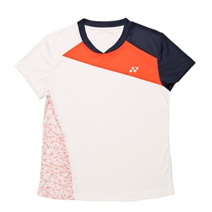 - 18220 Polo Shirt Women White/Orange 8-10 Year