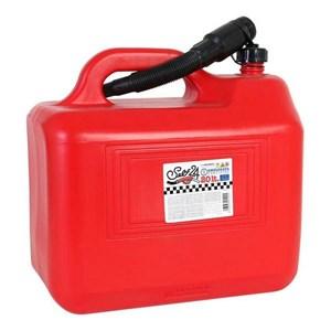 Billede af Brændstofstank med tragt Self 20 L Rød