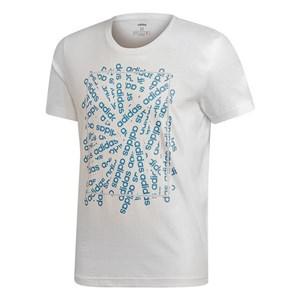 Image of   Kortærmet T-shirt til Mænd Adidas (Talla S) Hvid