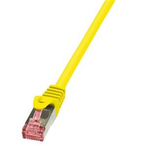Billede af 1m Cat.6 S/FTP netværkskabel Gul Cat6 S/FTP (S-STP)