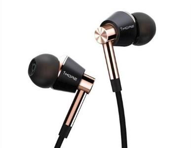 Image of E1001 Headset I ørerne Sort, Guld