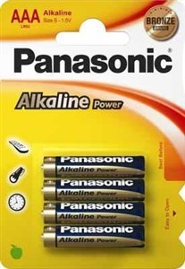 Image of   1x4 LR03APB Single-use battery Alkaline
