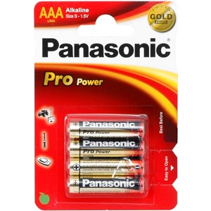 Image of   1x4 LR03PPG Engangsbatteri Alkaline