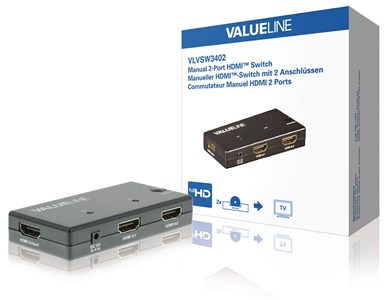 Image of   2-Port Hdmi Switch Sort