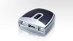 Image of 2-Port Usb Switch Sølv