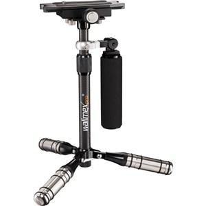 Image of   20834 stabilisator til kamera Stabilisator håndkamera Sort, Sølv