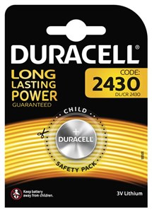 Image of   2430 Battery, 1pk