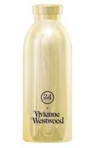 Image of Vivienne Westwood 500 ml Dagligt forbrug, Fitness, Vandring Blå, Guld Rustfrit stål