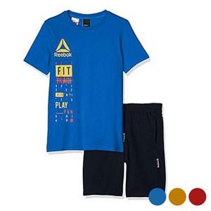 Image of   Children's Sports Outfit Reebok B ES SS Blå 5-6 år