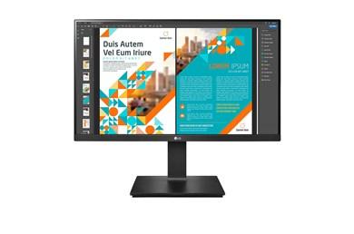 """Billede af 24QP550-B computerskærm 60,5 cm (23.8"""") 2560 x 1440 pixel Quad HD LED Sort"""