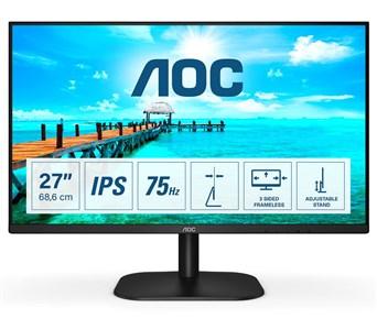 """Billede af 27B2H computerskærm 68,6 cm (27"""") 1920 x 1080 pixel Fuld HD LED Sort"""