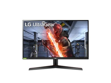 """Billede af 27GN600 computerskærm 68,6 cm (27"""") 1920 x 1080 pixel Fuld HD LED Sort, Rød"""