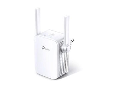 300Mbps Wi-Fi range extender with 2 antennas, white