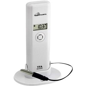 Image of   30.3302.02 temperatur- & fugtighedssensor Udendørs Temperature & humidity sensor Fritstående Trådløs