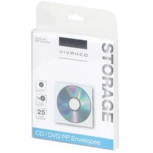 Image of   31706 optisk disk etui 1 diske Hvid