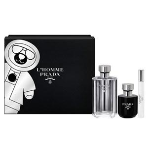 Parfume sæt til mænd L´homme Prada (3 pcs)