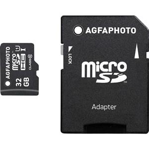 Image of 32GB MicroSDHC Class 10 hukommelseskort Klasse 10
