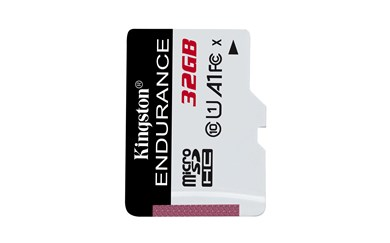 Image of   32GB microSDHC Endurance 95R/30W C10 A1 UHS-I Card Only